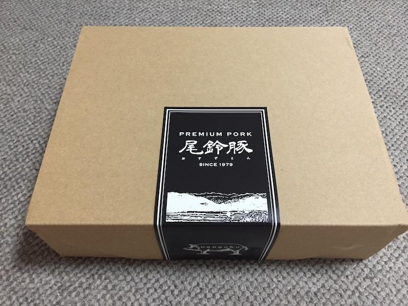 宮崎県都農町の「PREMIUM PORK尾鈴豚 ハム・ソーセージ」の内容の箱